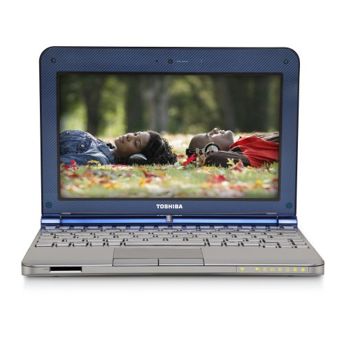 Toshiba Mini NB205-N325BL 10.1-Inch Royal Blue Netbook - 9 Hours of Battery Life (Windows 7 Starter)