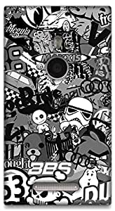The Racoon Lean The Internet hard plastic printed back case / cover for Nokia Lumia 925