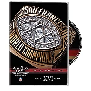 NFL Americas Game: San Francisco 49ers Super Bowl XVI movie