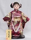 【市松人形】【翠仙作】【日本の人形】花茉莉【市松人形】v1372【創作市松13号】