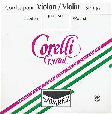Corelli Crystal 4/4 Violin A String - Aluminum/Stabilon - Thick(heavy) Gauge