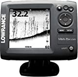 Lowrance 000-10233-001 Mark-5x DSI DownScan Imaging Fishfinder with 5-Inch Monochrome LCD and 455/800 KHz Transom Mount Transducer (Discontinued by Manufacturer)