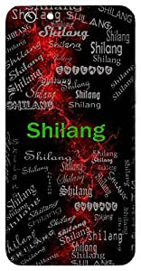 Shilang (Virtuous) Name & Sign Printed All over customize & Personalized!! Protective back cover for your Smart Phone : Apple iPhone 5/5S