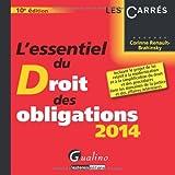 echange, troc Corinne Renault-Brahinsky - L'essentiel du droit des obligations 2014