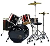 "GP Percussion ""Performer"" 5 Piece Full Size Drum Set Picture"