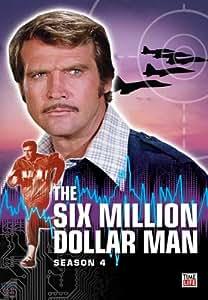 Six Million Dollar Man The Complete Season 4 (Four)