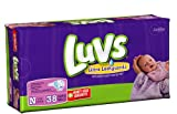 Luvs Newborn Diapers - Jumbo Pack 38 Ct