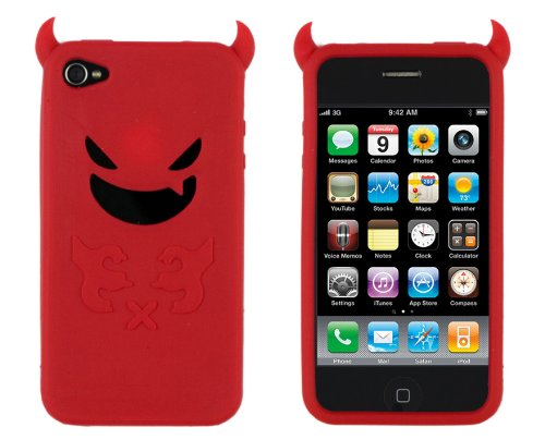 Soft Devil Case for Apple iPhone 4 (Fits AT&T 