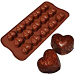 SILICONE CHOCOLATE MOULD TRAY ROUND I...