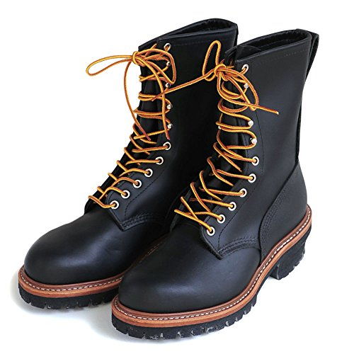 "RED WING(レッド ウィング)9"" LOGGER Heritage Work【8210】[正規取扱] (7 1/2, Black Chrome)"