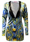 MyMixTrendz-Women Long Sleeve Faux PV…