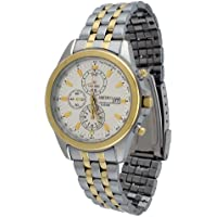 Seiko SNDF04 Stainless Steel Silver Dial Chronograph Sports Men's Watch