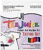 Jacquard Tee Juice Fabric Marker Kit (Tattoo)