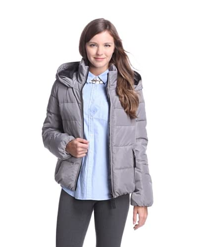 French Connection Women's Hooded Down Jacket