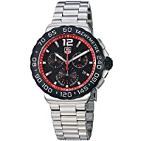 TAG Heuer Men's CAU1116.BA0858 Formula 1 Black Dial Stainless Steel Watch by TAG Heuer