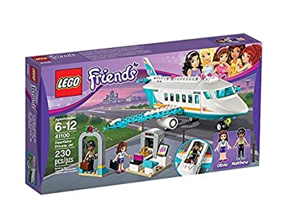 Lego Friends - 41100 - Jeu De Construction - L'avion Privé De Heartlake City