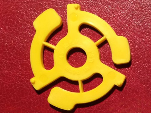 Pack) TEN Yellow Plastic 45