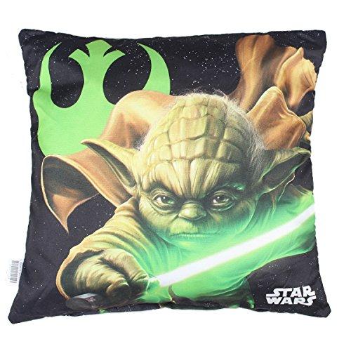 Star Wars Cuscino Ragazzo Maitre Yoda 40 x 40 cm