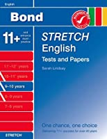 Bond Stretch English Tests and Papers 9-10 years