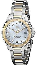 TAG Heuer Women's WAY1351.BD0917 Aquaracer Analog Display Quartz Two Tone Watch