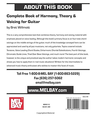 Complete Book of Harmony, Theory & Voicing for Guitar