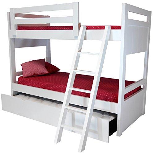 Litera 3 camas en mdf dm 4 cm de grosor for Literas individuales baratas