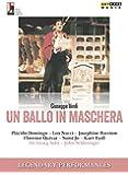 Verdi:Un Ballo In Maschera [Placido Domingo; Leo Nucci; Josephine Barstow; Florence Quivar; Sumi Jo; Kurt Rydl] [ARTHAUS: DVD] [2015]