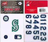 Seattle Mariners Official Rawlings Authentic Batting Helmet Decal Kit Amazon.com