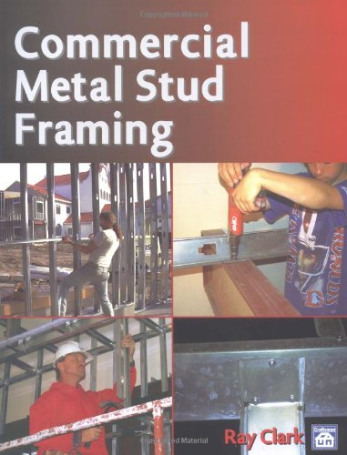 Commercial Metal Stud Framing - Craftsman Book Co - CR713 - ISBN: 157218079X - ISBN-13: 9781572180796