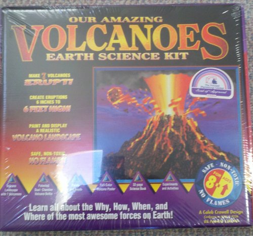 our americas volcanos earth science kit