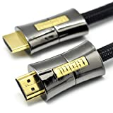 LCS - PEARL - 10M - Cable hdmi 1.4a - PROFESSIONNEL - Signal Video Haute performance 2160p avec Ethernet et 3D - Connecteurs plaqus orpar Link Cable Store