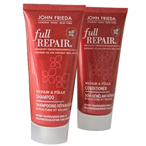 John Frieda Full Repair Probierset (1x Repair & Fülle Shampoo 50 ml, 1x Repair & Fülle Conditioner 50 ml)
