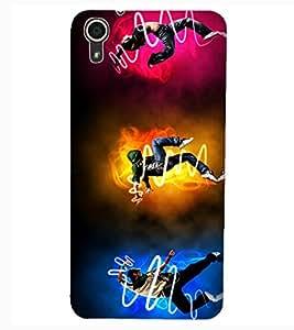 ColourCraft Guitar Design Back Case Cover for HTC DESIRE 626s