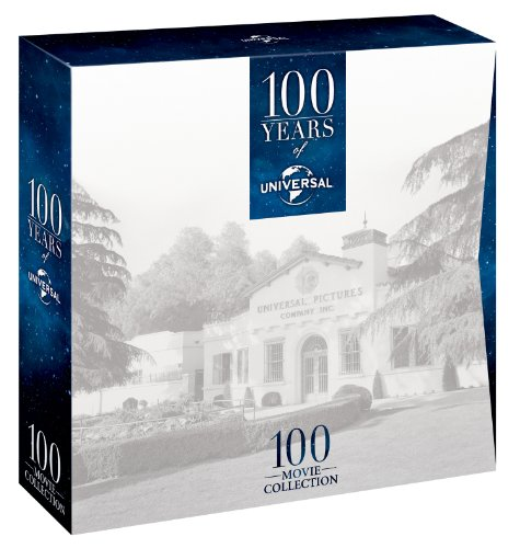 100 Years of Universal - Limited Edition 100 Movie Collection Box Set [DVD] [1930]