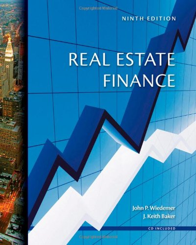 Real Estate Finance [With CDROM]