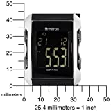 Armitron Men's 408177SIL Silver-Tone and Black Chronograph Digital Sport Watch