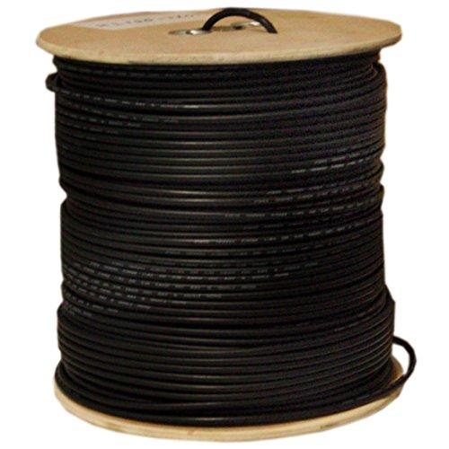 C&E 1000 feet 18AWG Quad Shield CCS RG6 60% Coaxial Cable