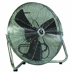 "TPI Corporation CF-12 Commercial Workstation Floor Fan, 12"" Diameter, 120 Volt"