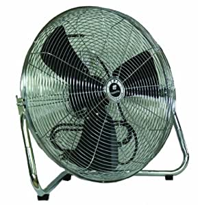 "TPI Corporation CF-12 Commercial Workstation Floor Fan, 12"" Diameter, 120 Volt"