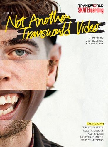 【スケートボードDVD】NOT ANOTHER Transworld Skateboarding(ノット・アナザー トランスワールド・スケートボーディング) 輸入版