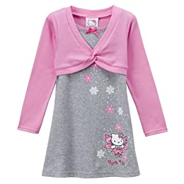 Hello Kitty Long-Sleeve Dress