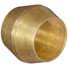 Anderson Metals Brass Compression Tube Fitting, Sleeve, Tube OD