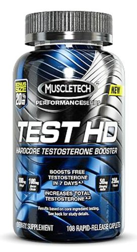 MuscleTech Muscletech 100% Premium Testosterone Booster, Performance Series
