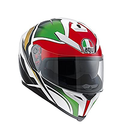 AGV Helmets 0041A2F0_003_L Casque Intégral K-5 E2205, Multicolore (Roadracer Italy), L