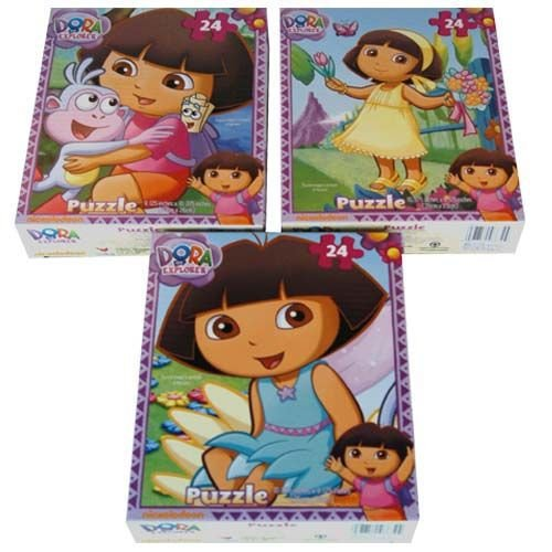 Cheap Dora the Explorer Dora the Explorer 24-Piece Jigsaw Puzzle, Styles Vary (B002XKB0L8)