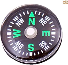niceEshopTM Classical Outdoor Camping Hiking Portable Brass Pocket Compass Navigation ToolBrassy