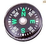 Wholesale Lot 24pcs 20mm Small Mini Compasses for Survival Kit