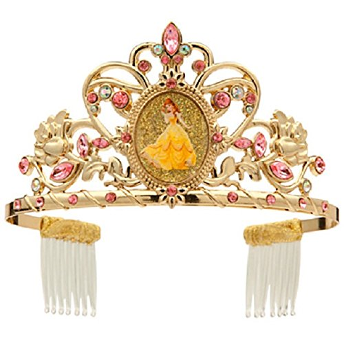Disney Store Princess Belle Tiara Crown Headband