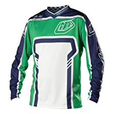 Troy Lee Designs Factory Gentlemen green (Size: XL) Downhill Jersey