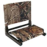 The Stadium Chair - The seat with Bungee Cord Comfort in Real Tree Camo (SC1 Edition)